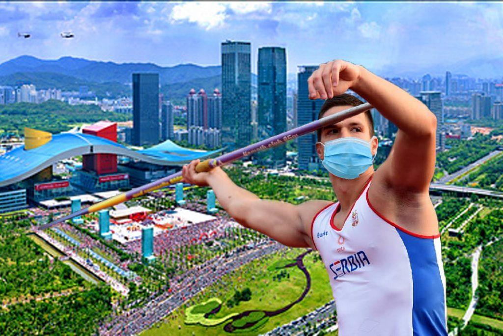 Branko Pauković, srpski atletičar u epicentru Korona virusa u Kini