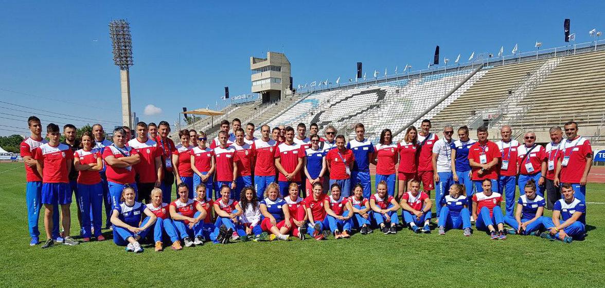 Reprezentacija Srbije, Ekipno prvenstvo Evrope 2017, Izrael