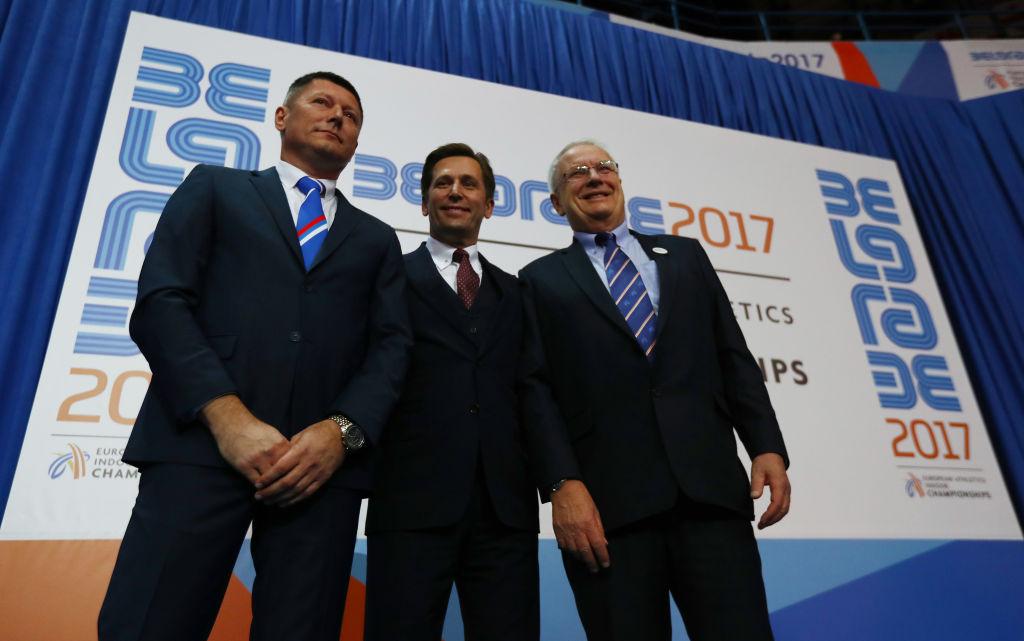 Slobodan Branković, Veselin Jevrosimović, Sven Arne Hansen, Evropsko prvenstvo Beograd 2017