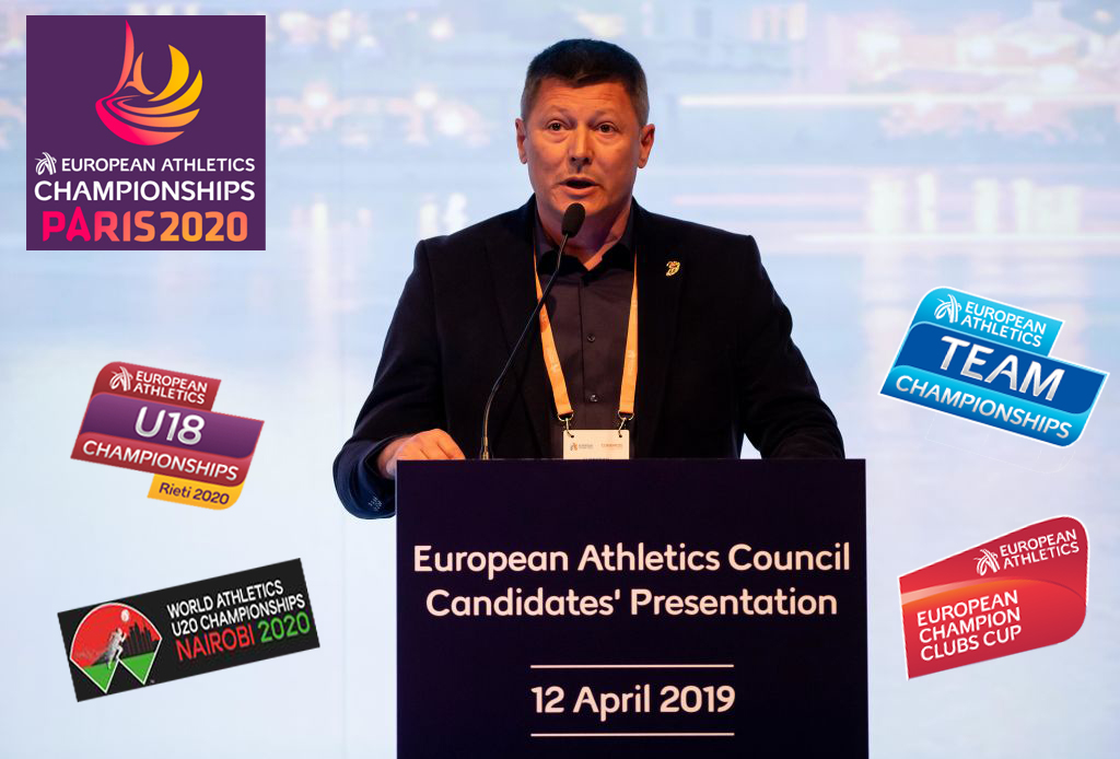Slobodan Branković i budućnost atletskih takmičenja u 2020. godini