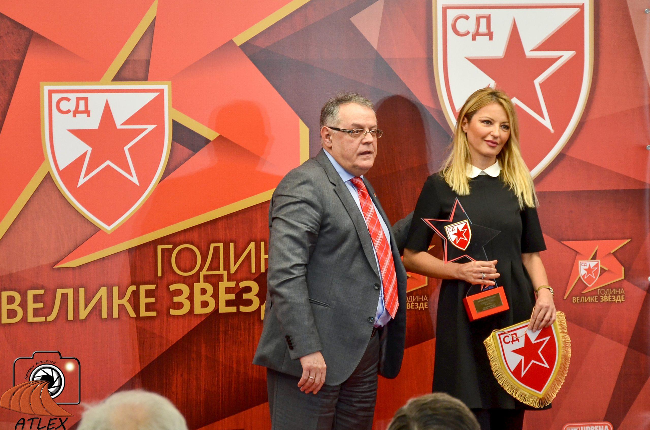 Specijalno priznanje za Nenada Stekića, 75. rođendan SD Crvena zvezda