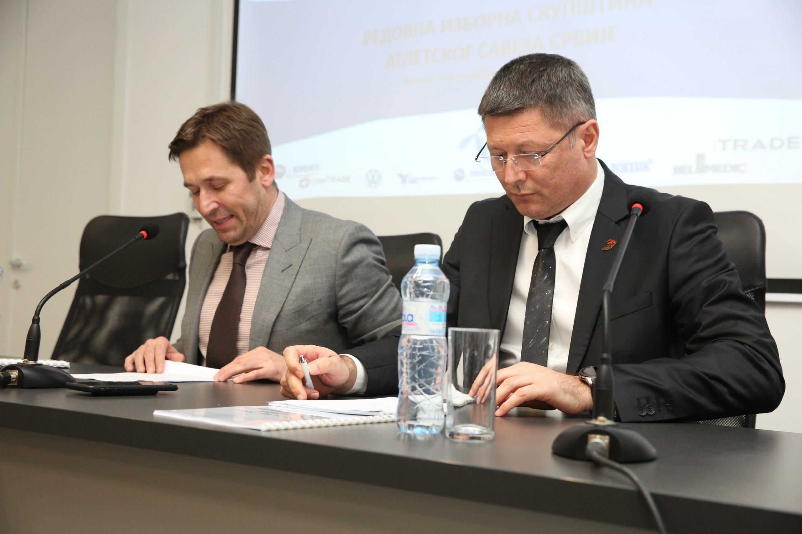 Izborna skupstina ASS, Jevrosimović i Branković