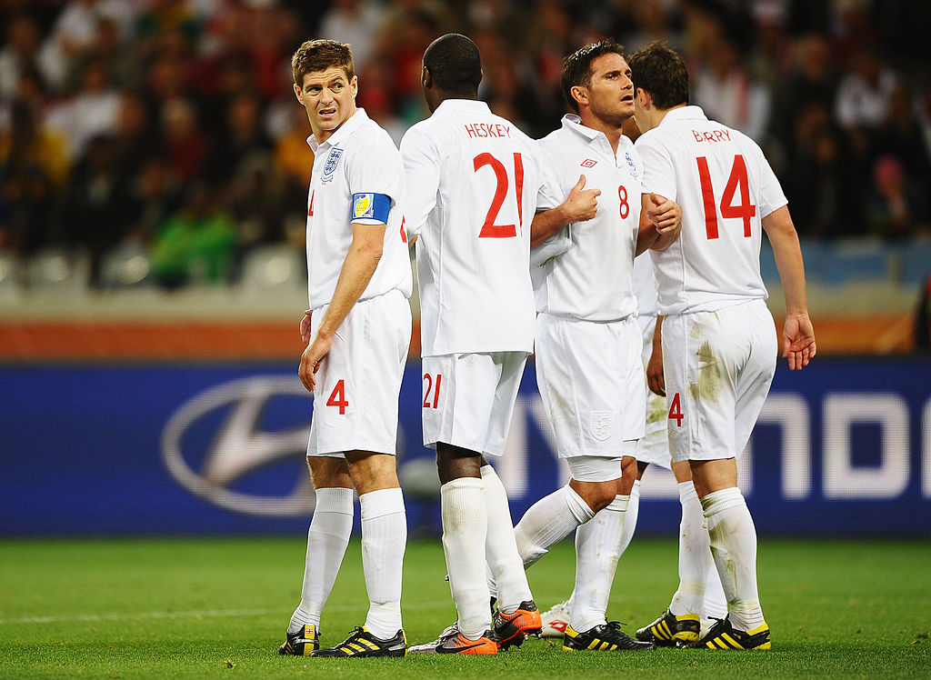 Džerard, Heski, Lampard, Beri, Engleska Mundijal 2010