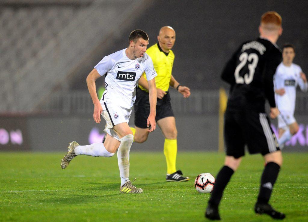 Strahinja Pavlović, FK Partizan