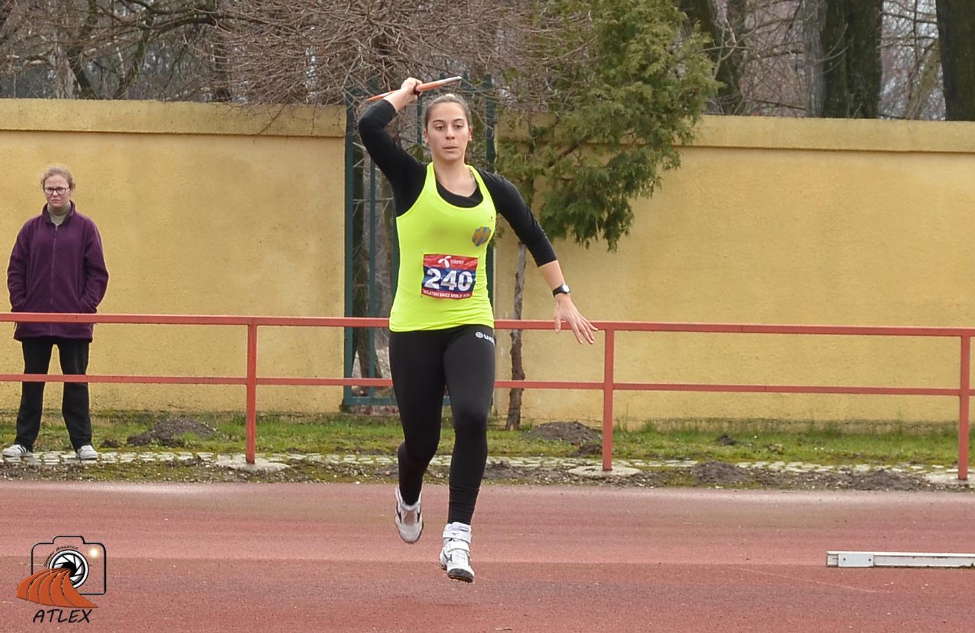 Adriana Vilagoš, Zimski Kup 2019