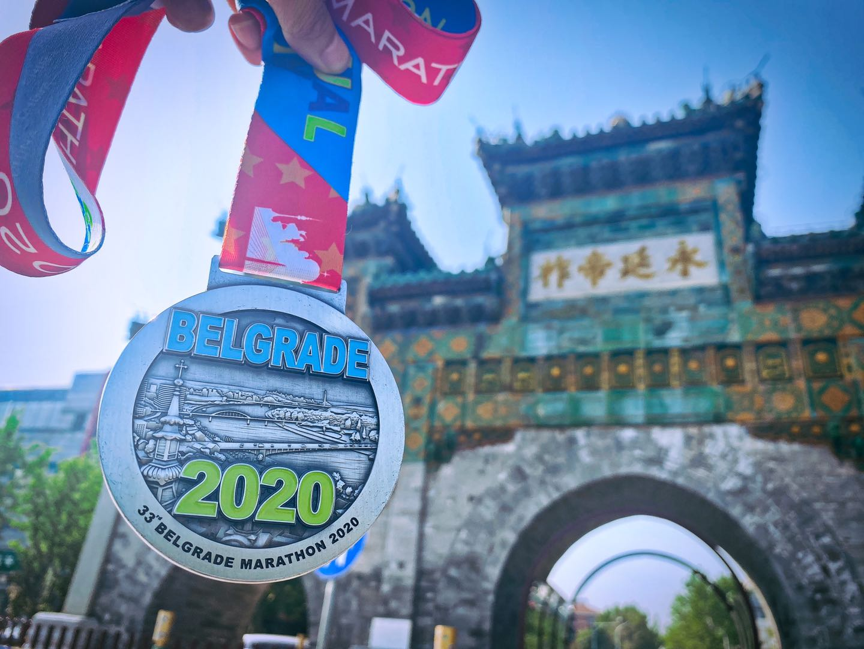 Beogradski maraton u Kini