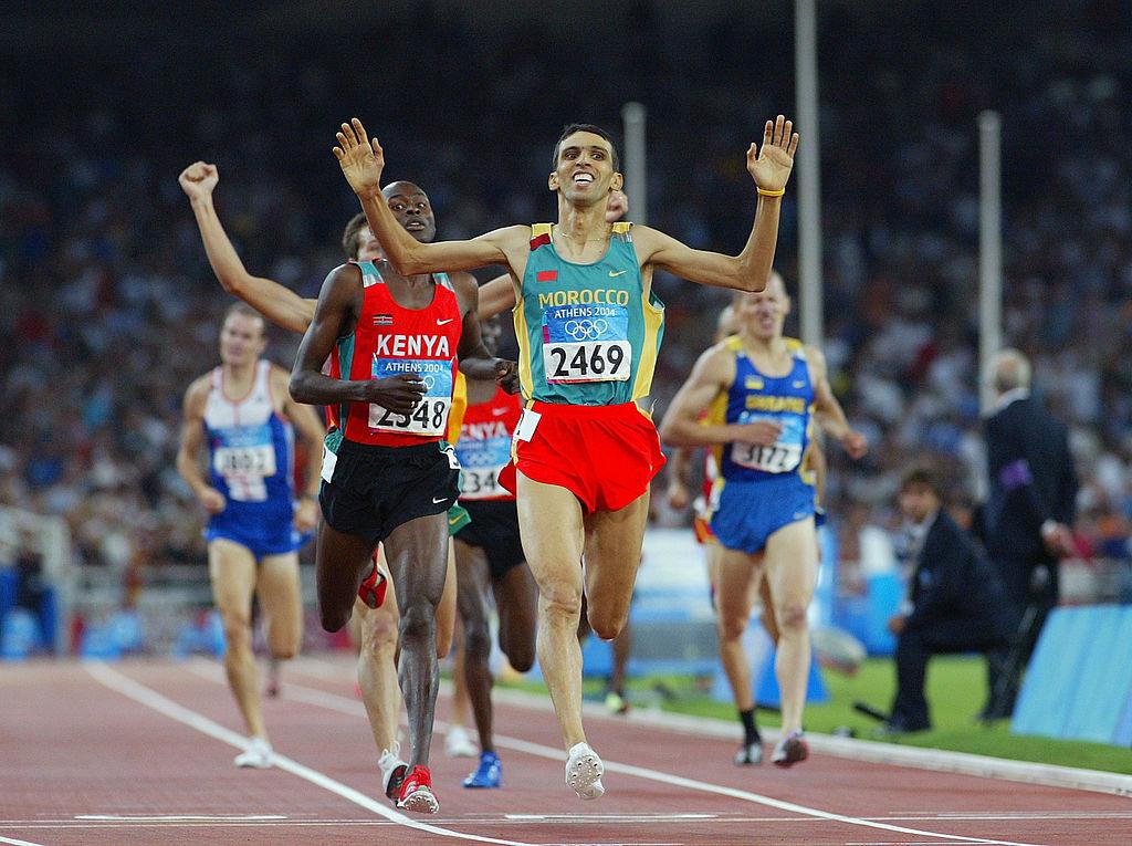 Hikam El Gueruž, pobednik Olimpijskih igara 2004. na 1500m
