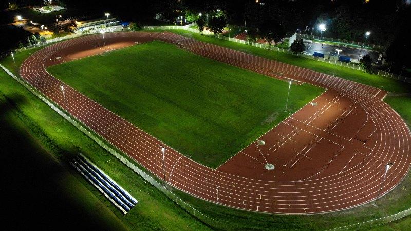 Atletski stadion Čačak pod reflektorima