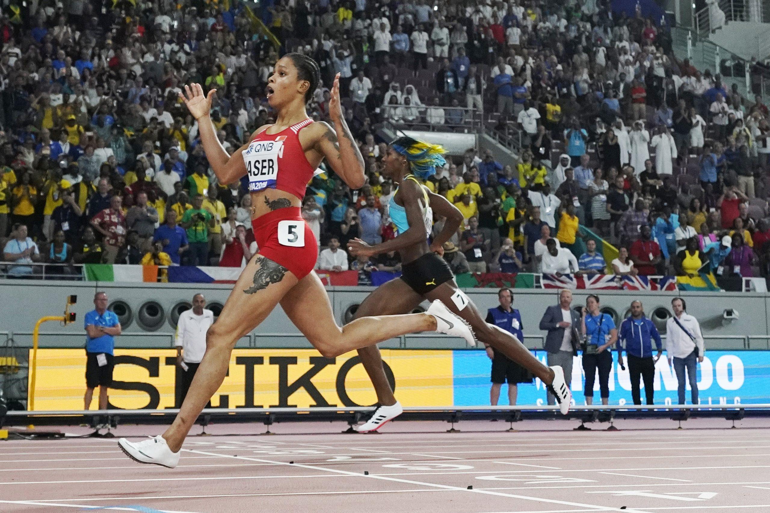 Salve Eid Naser, prvakinja sveta na 400 metara 2019