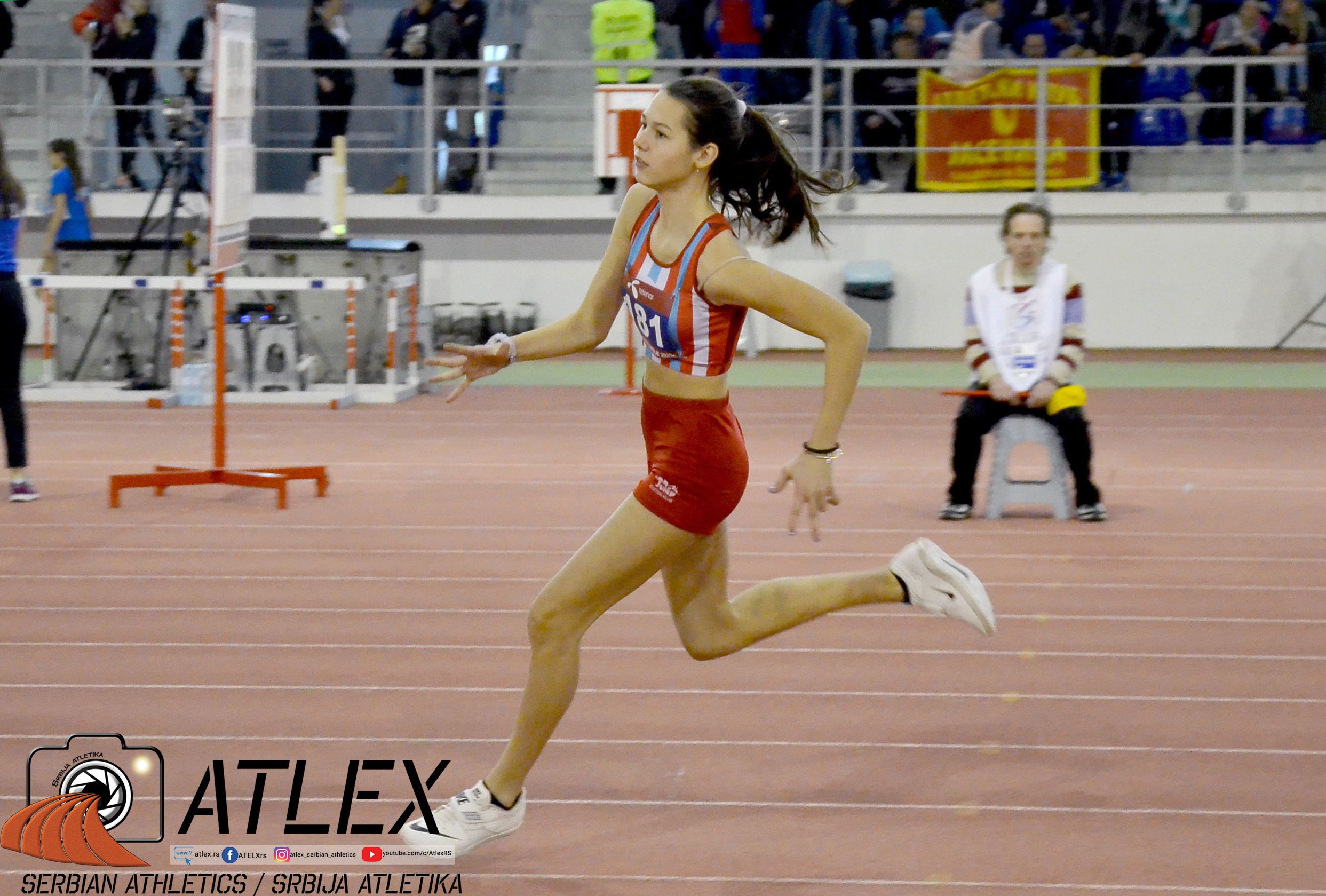 Angelina Topić, skok uvis