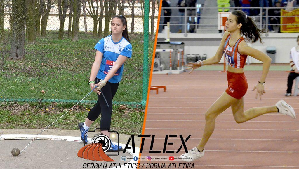 Mina Amidžić i Angelina Topić - državni rekordi
