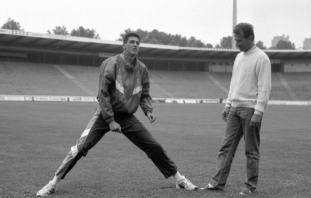 Dragutin Topić i Mihajlo Švraka, Marakana 1990.