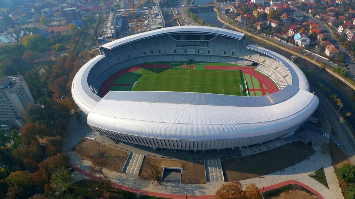 Kluž Arena, stadion na kojem će se održati Balkanijada 2020