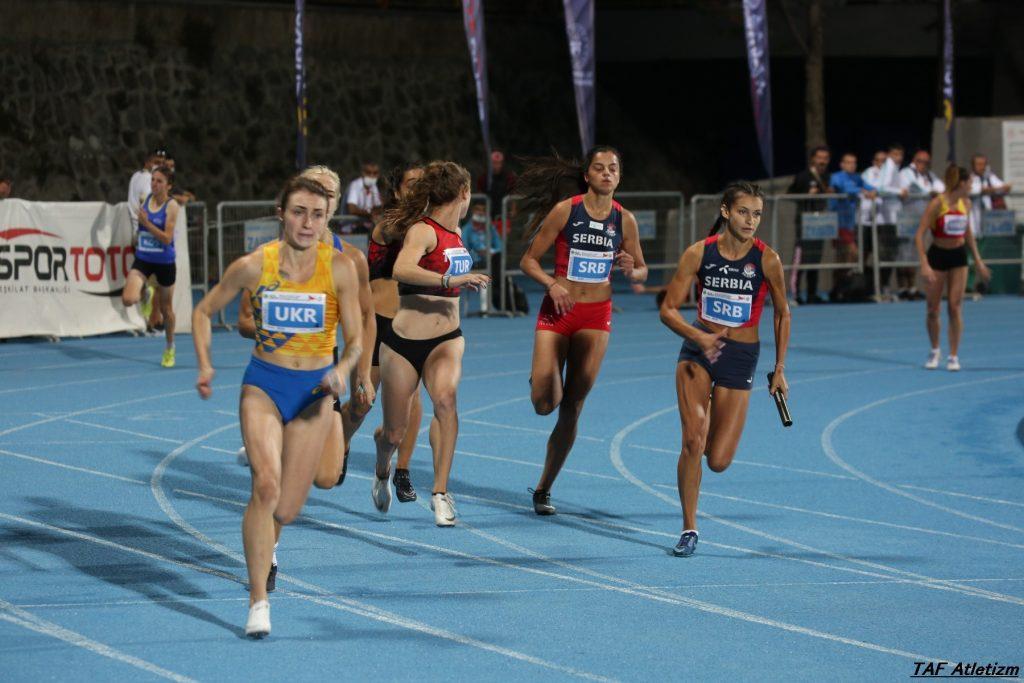 4x100m, u20 Balkanijada, Ivana Ilić