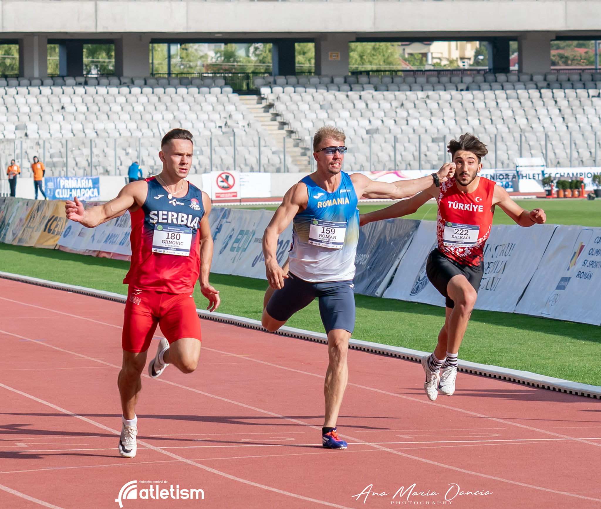 Aleksandar Grnović, 100m, Balkanijada 2020