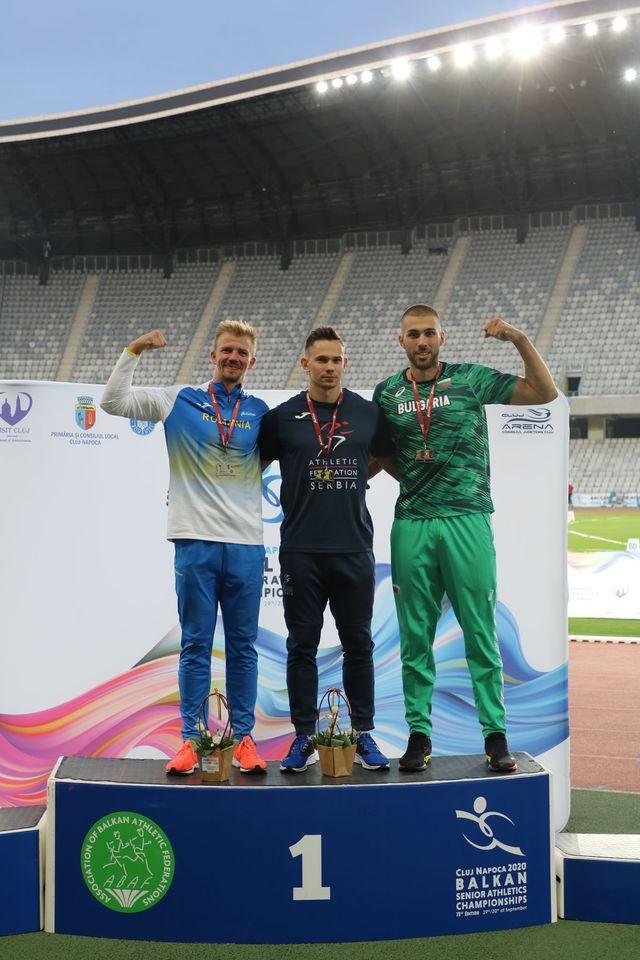 Aleksandar Grnović, zlatna medalja, Balkanijada 2020