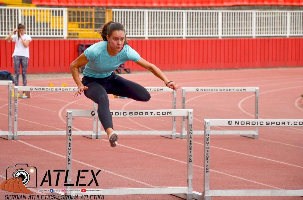 Anja Lukić, 100m prepone