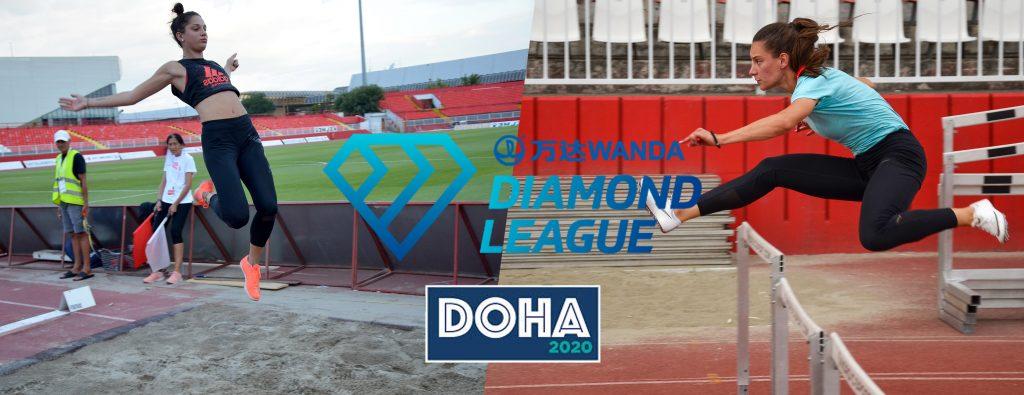 Milica Gardašević i Anja Lukić - Dijamantska lige Doha 2020
