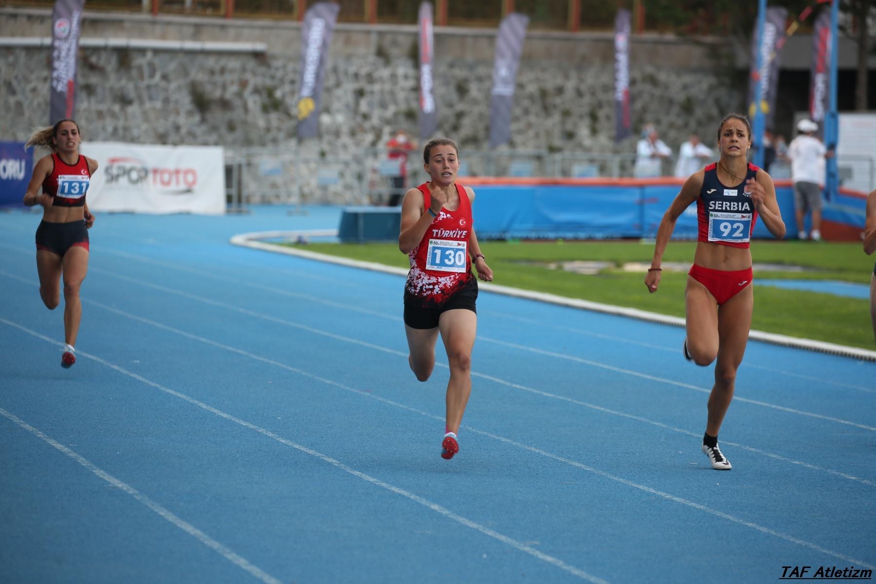 Marina Živković, 200m u20 Balkanijada