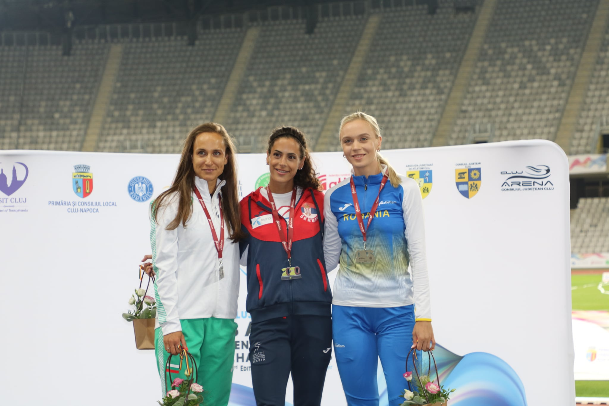 Milana Tirnanić, zlato 100m, Balkanijada 2020.