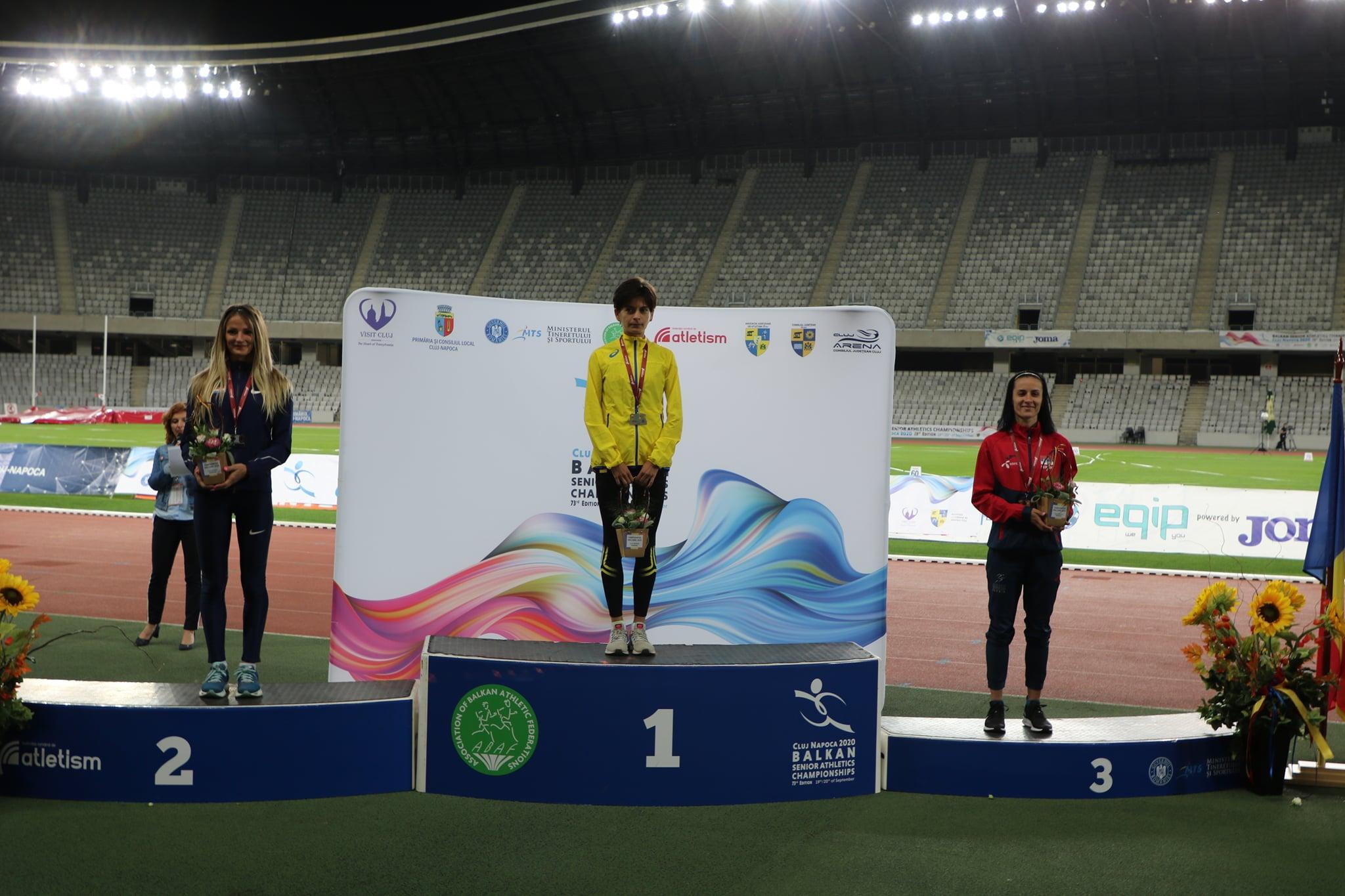 Teodora Simović, Bronzana medalja, Balkanijada 2020
