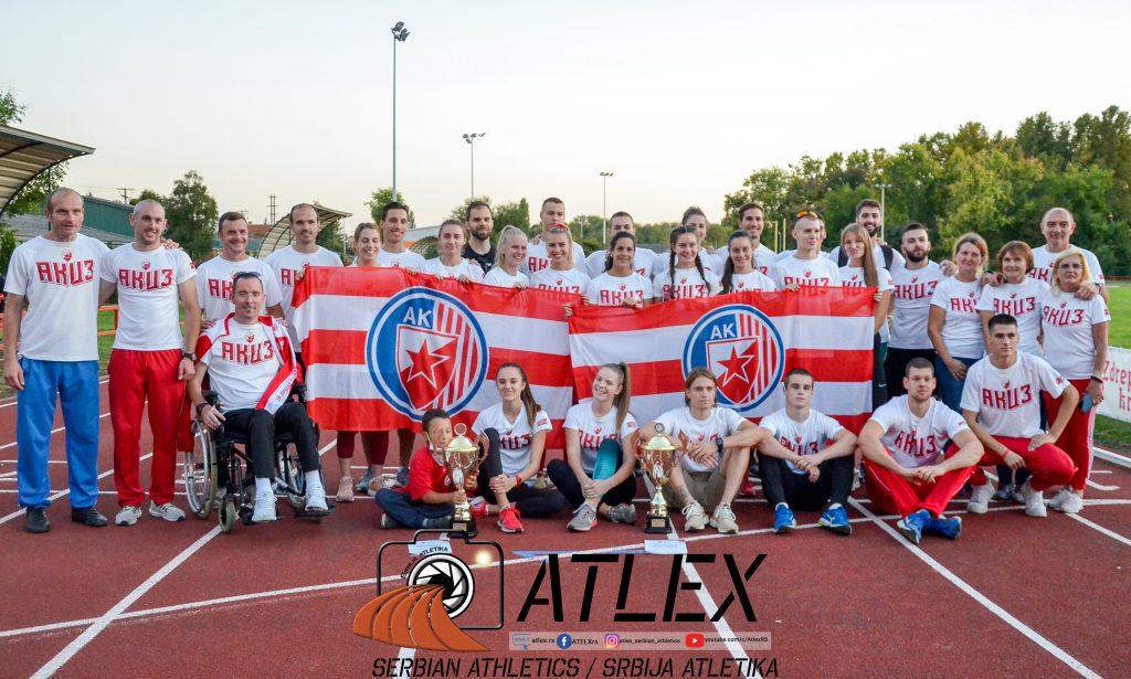 AK Crvena Zvezda šampion Srbije 2020