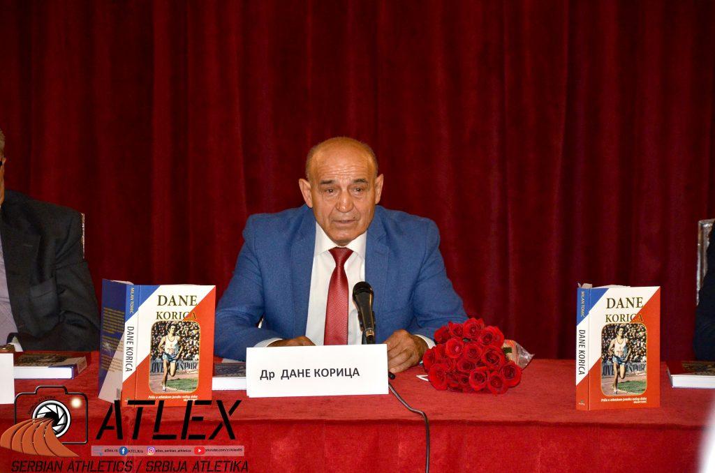 Dane Korica, promocija biografije