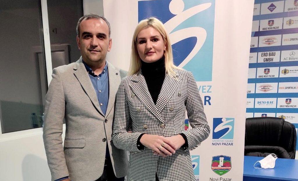 Edin Zuković i Amela Terzić, Sportski savez Novog Pazara