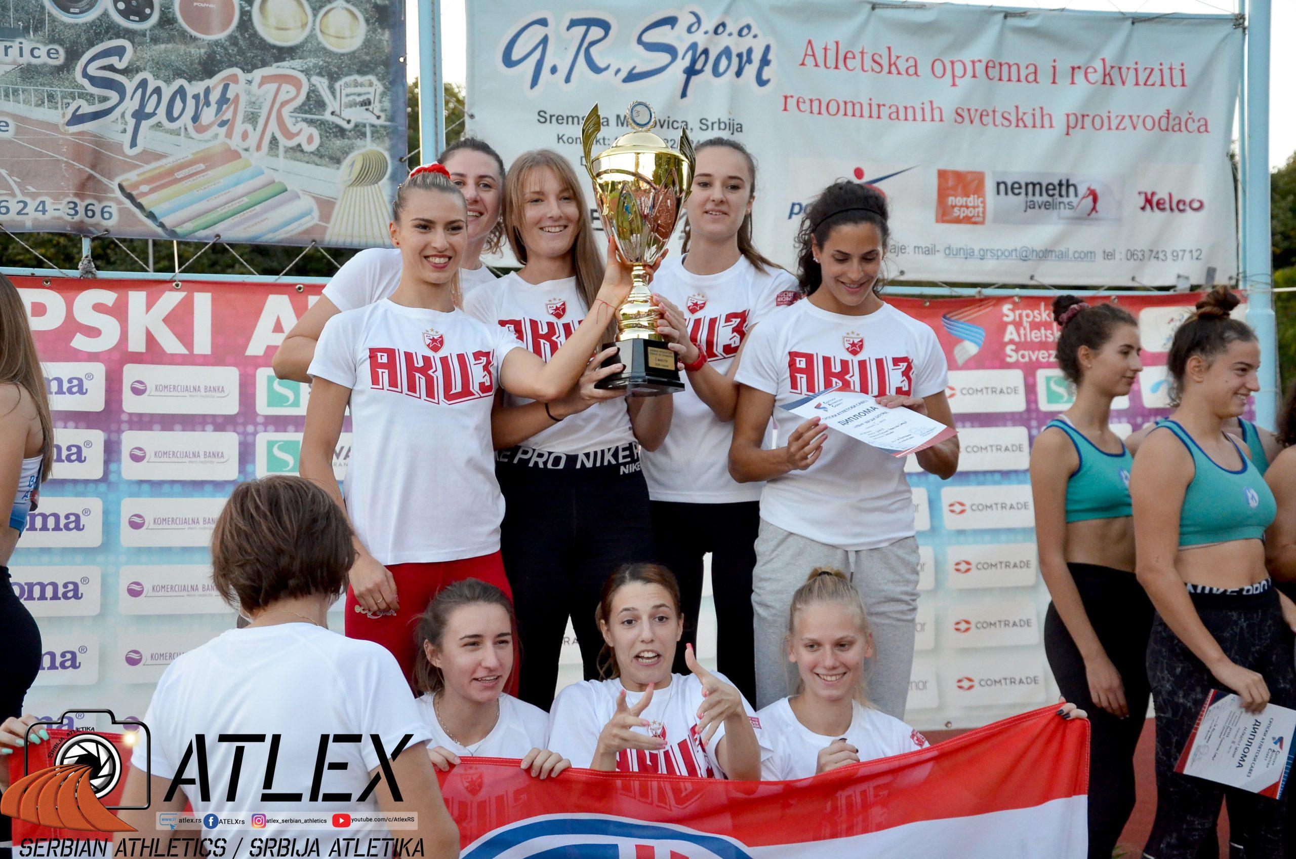 Ekipno prvenstvo Srbije 2020, devojke - Crvena zvezda