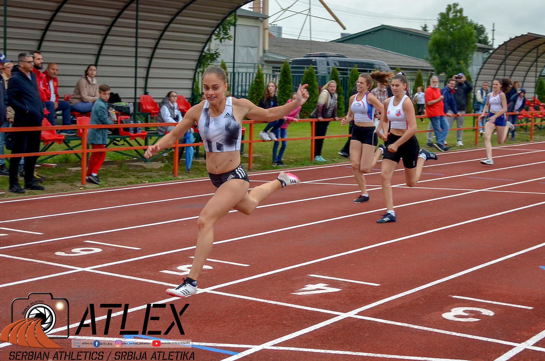 Milica Emini, 100m