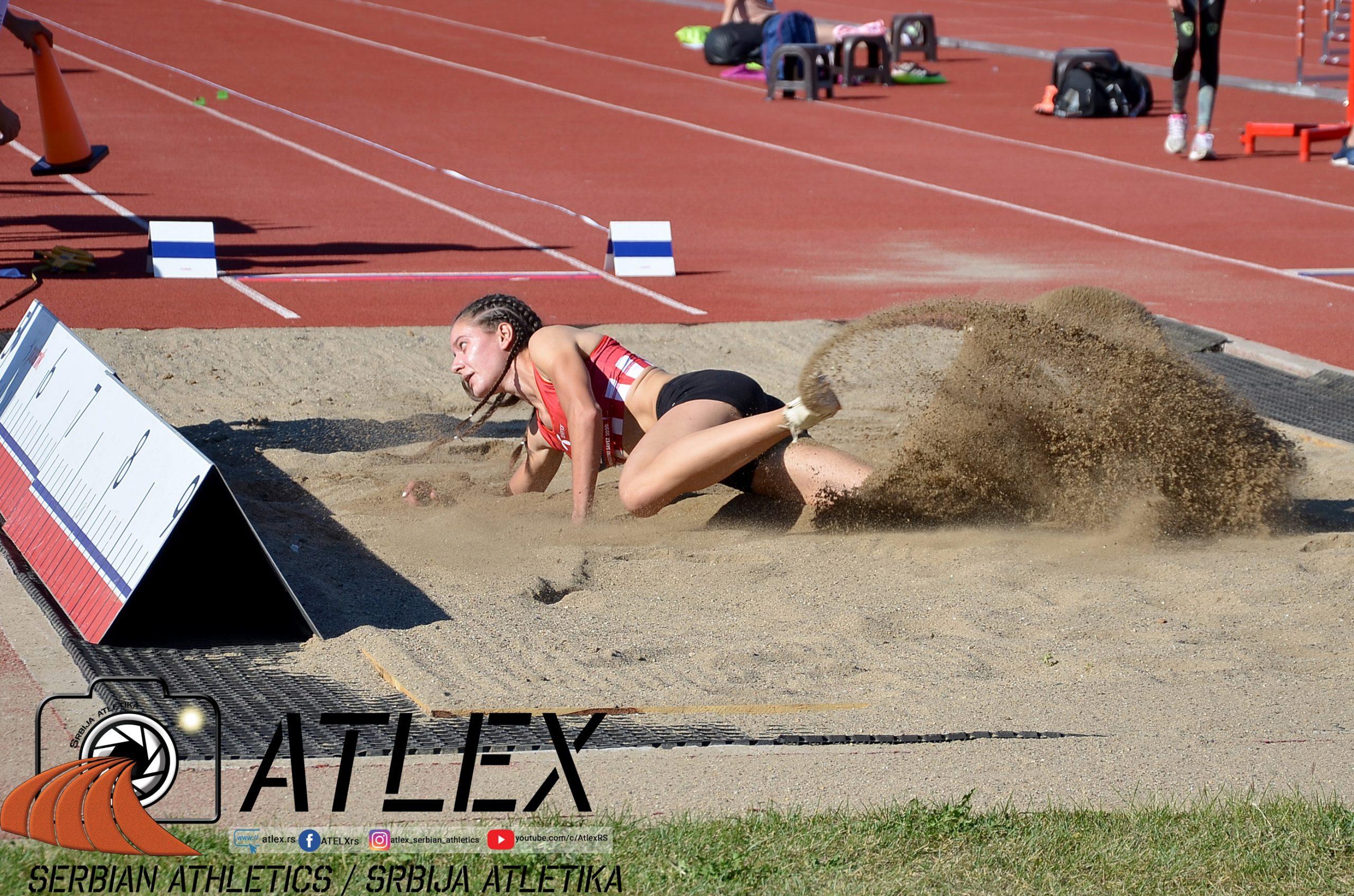 Sara Lukić, skok udalj