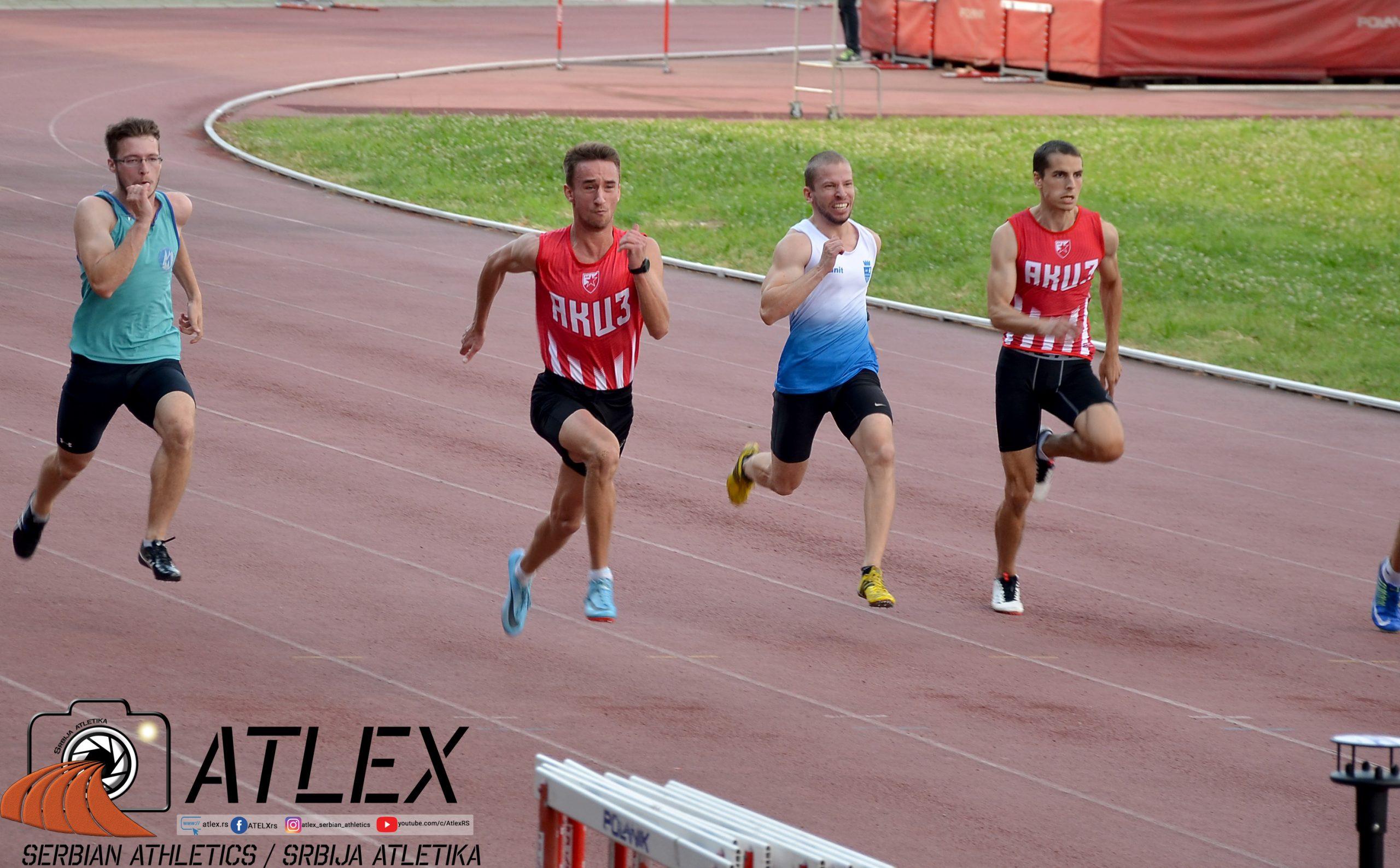 Kup Beograda za juniore VK 100m - Jurošević, Mandić, Labica, Radojković