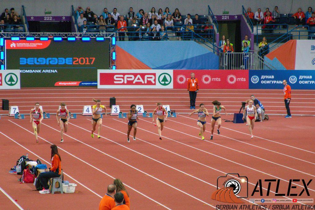 Dvoransko prvenstvo Evrope 2017., Beograd, finale 60m žene