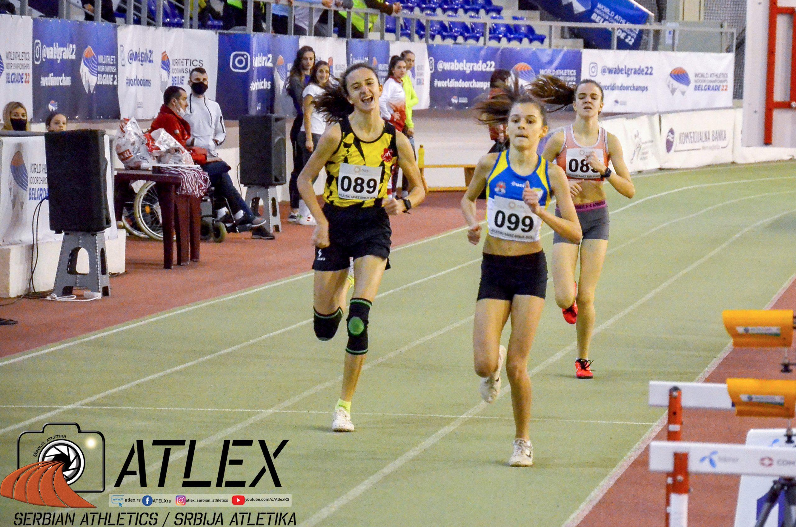 800m juniorke, Rajić, Marić, Antić
