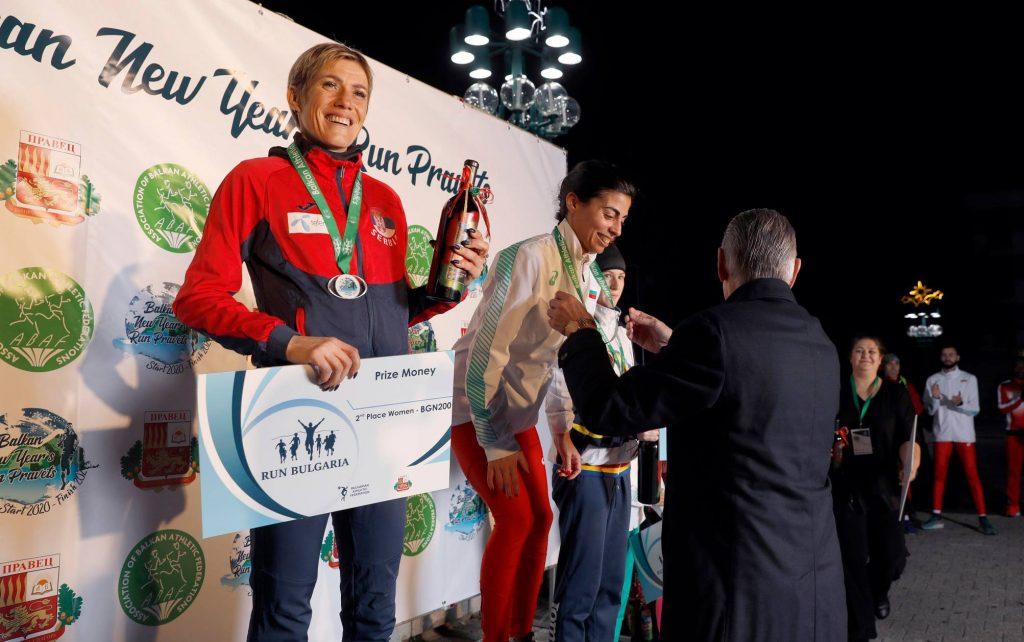 Olivera Jevtić, srebro na novogodišnjoj balkanskoj trci Pravec 2020