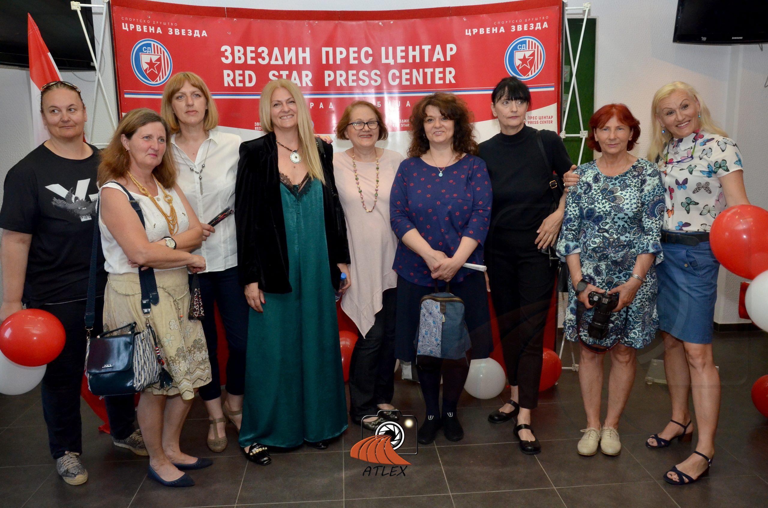 Ženska ekipa Crvene zvezde koja je 1989. postala vicešampion Evrope
