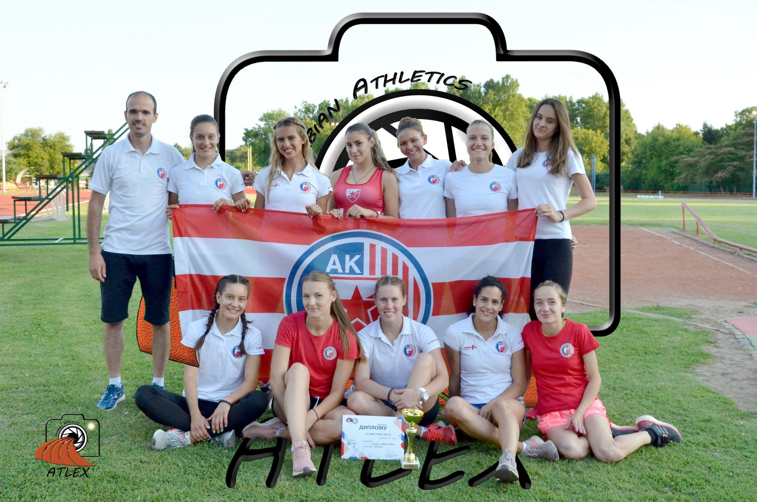 Ženska ekipa Crvene zvezde prvak Srbije za 2019.