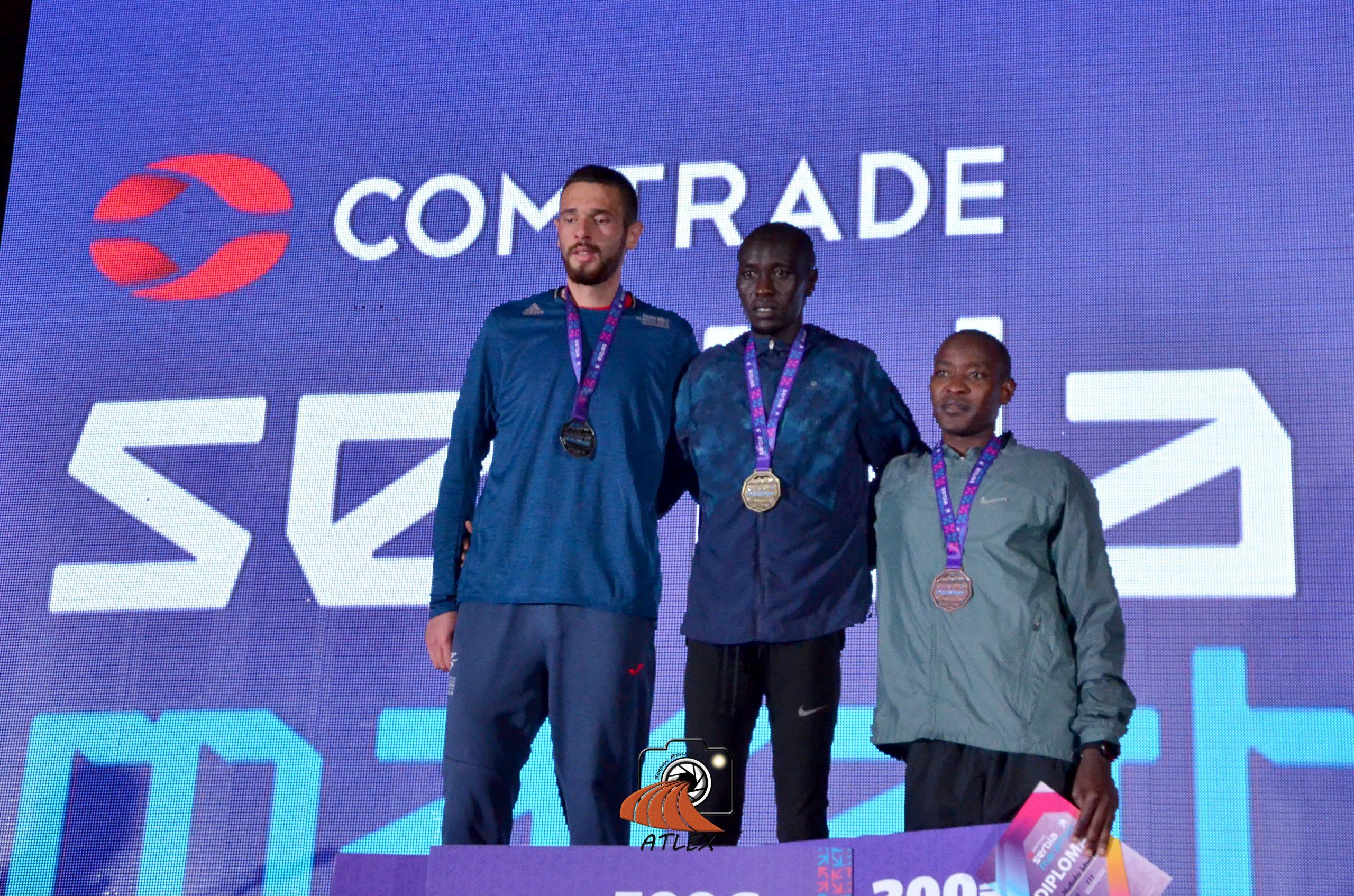 Prvi Comtrade Serbia Marathon, polumaraton - Mila Mitrović, Metju Kosgei, Elija Mutuku Wambua,