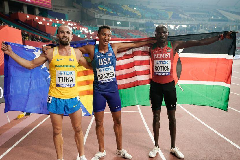 800 metara, osvajaci medalja, Doha 2019