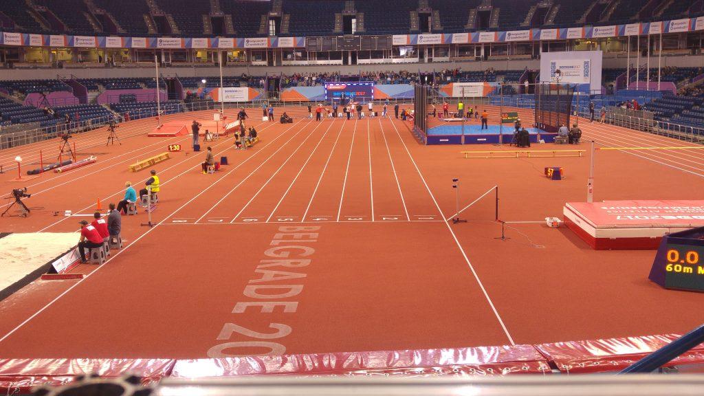 Beogradska arena pred dvoransko prvensstvo Evrope 2017.