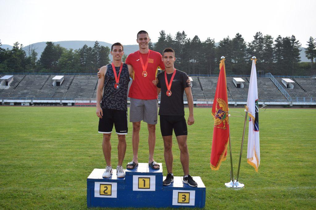 Berane 2019 - 400m muškaraci . Ivan Marković, Jovan Stojoski