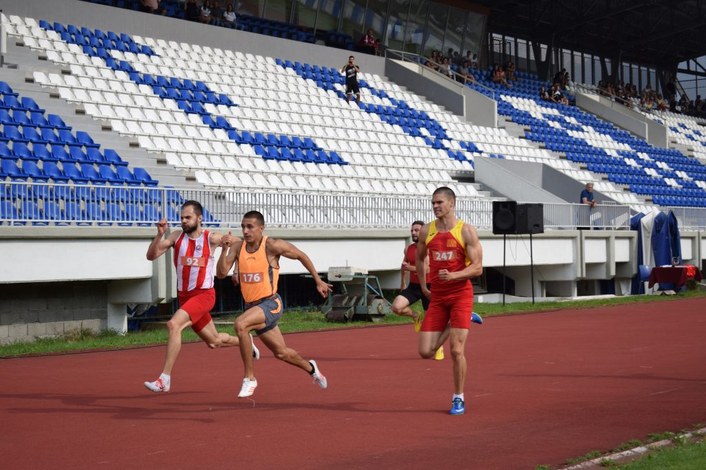 Berane 2019 - Filip Ištvanović Antonio Ivanov Jovan Stojoski - 100m
