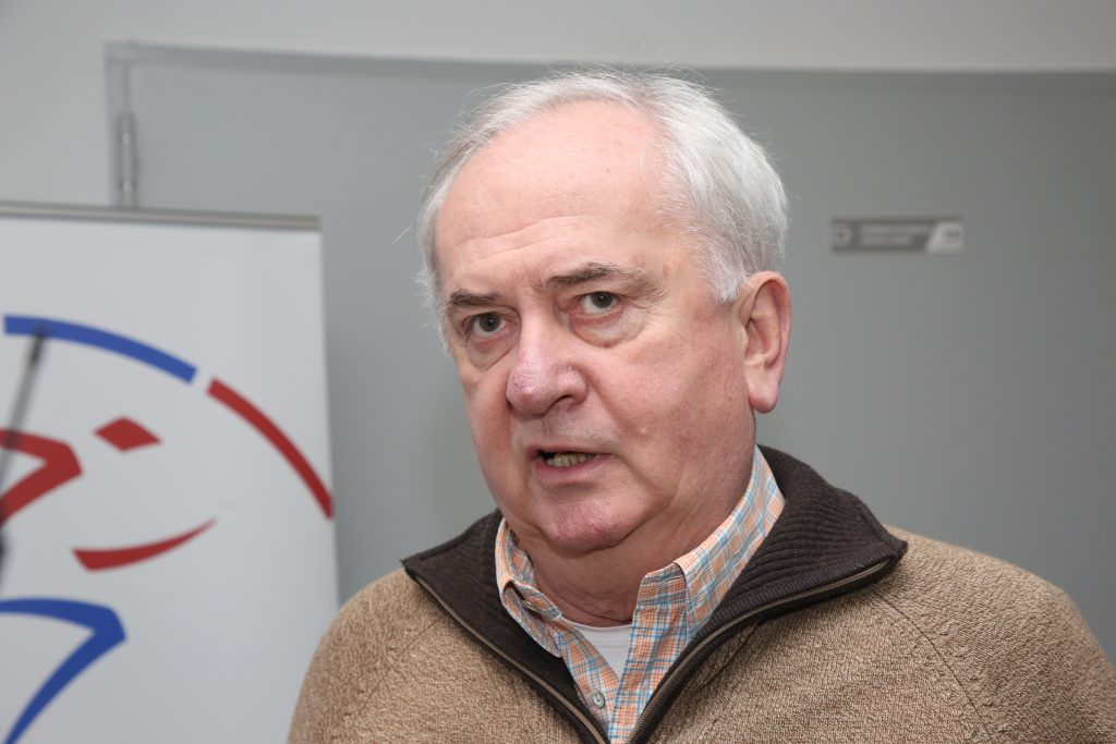Božidar Maljković u poseti ASS-u