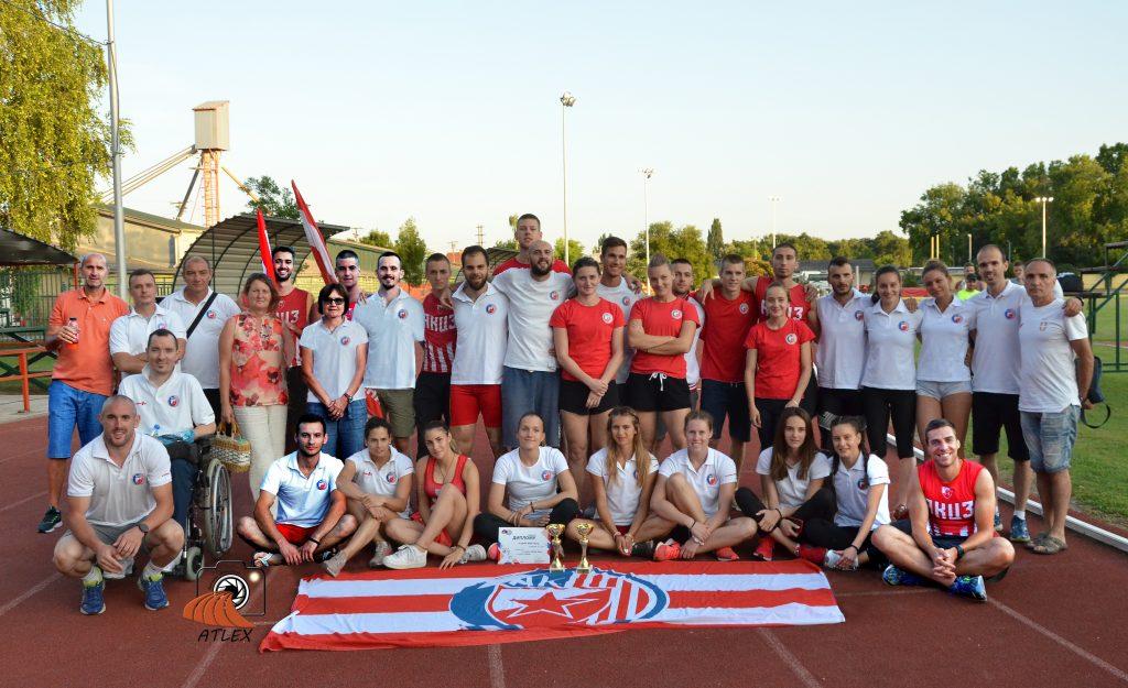 Crvena zvezda - ekipni šampion Srbije 2019