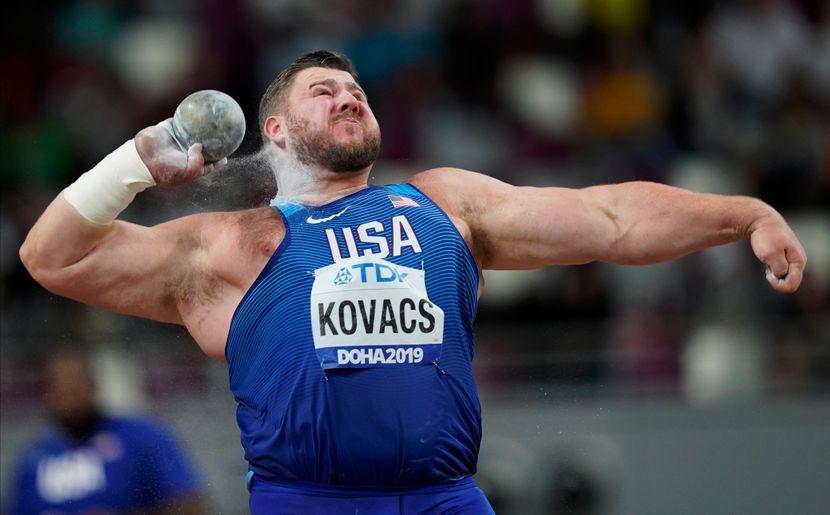 Džo Kovač, finale Svetsko prvenstva u bacanju kugle