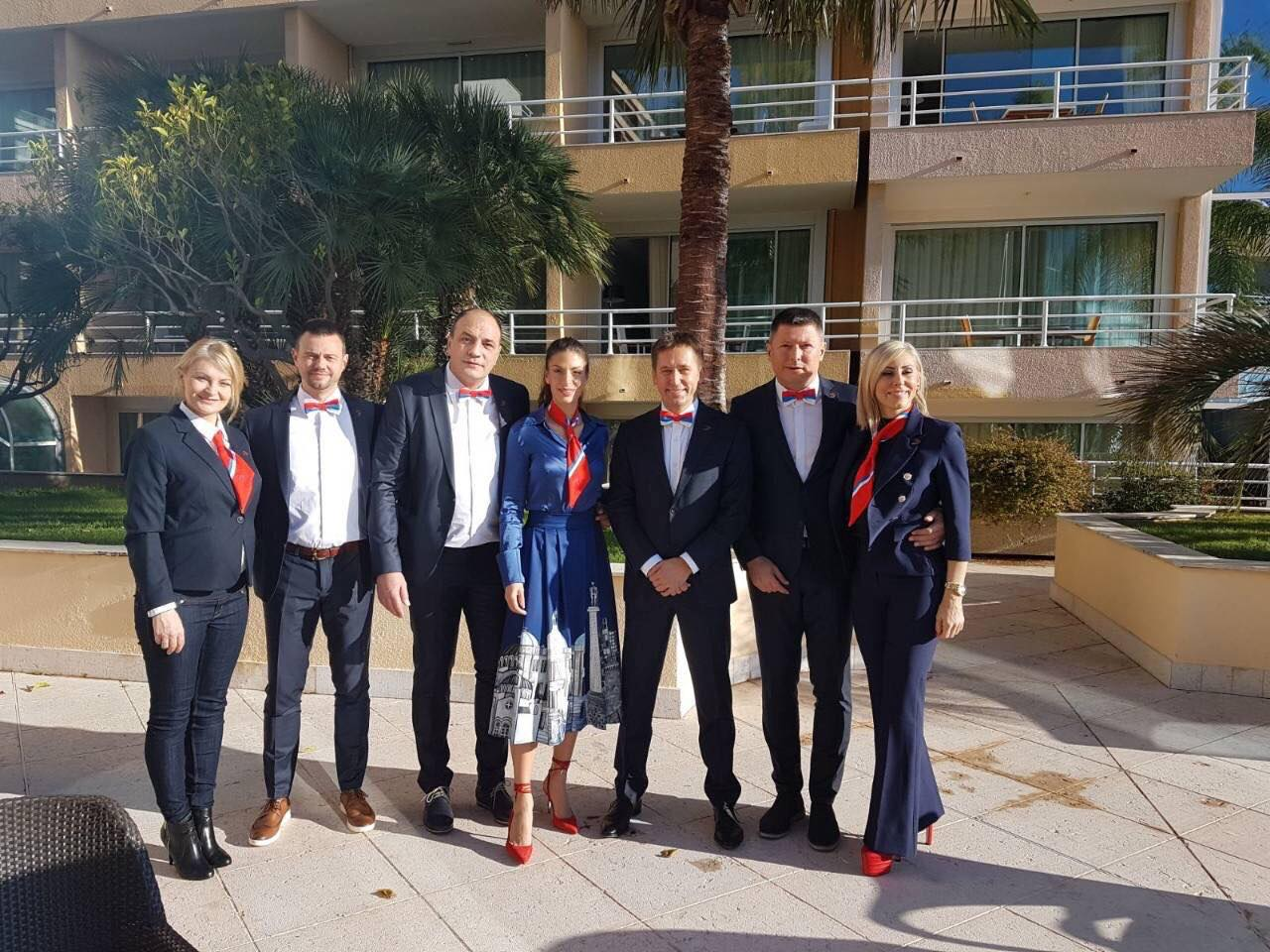 Delegacija Srbije za izbor domaćina dvoranskog Svetskog prvenstva 2020