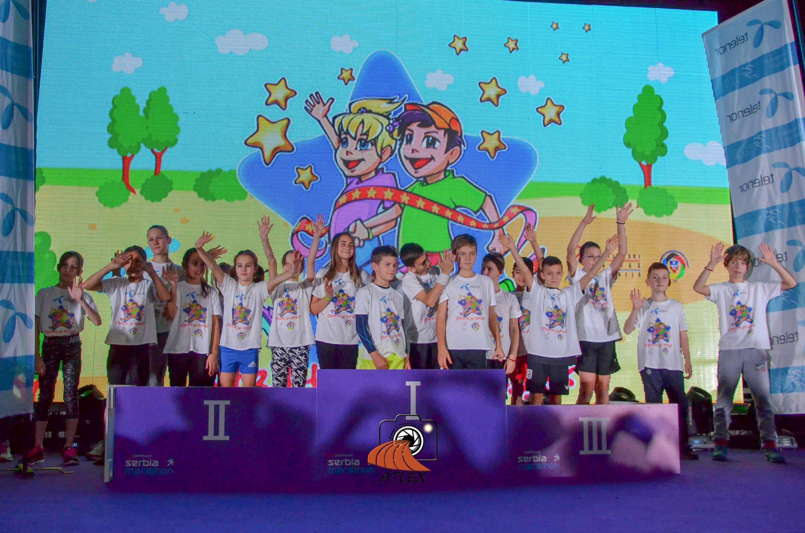 Finalisti ''Brzinom do zvezda'' Beograd