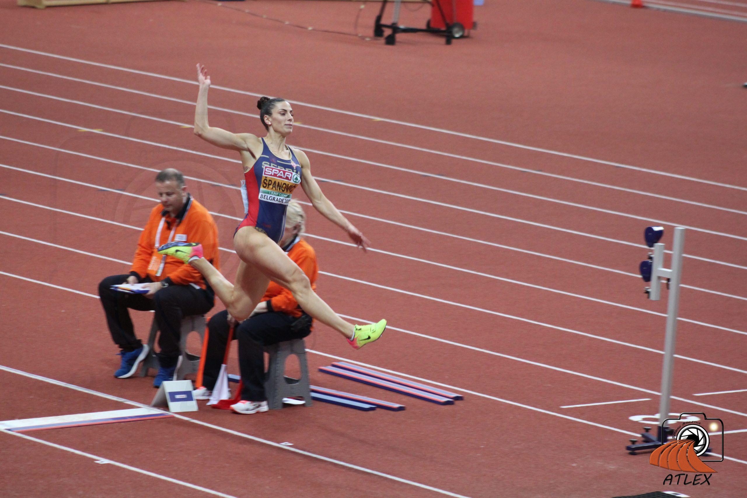 Ivana Španović, Evropsko prvenstvo Beograd 2017