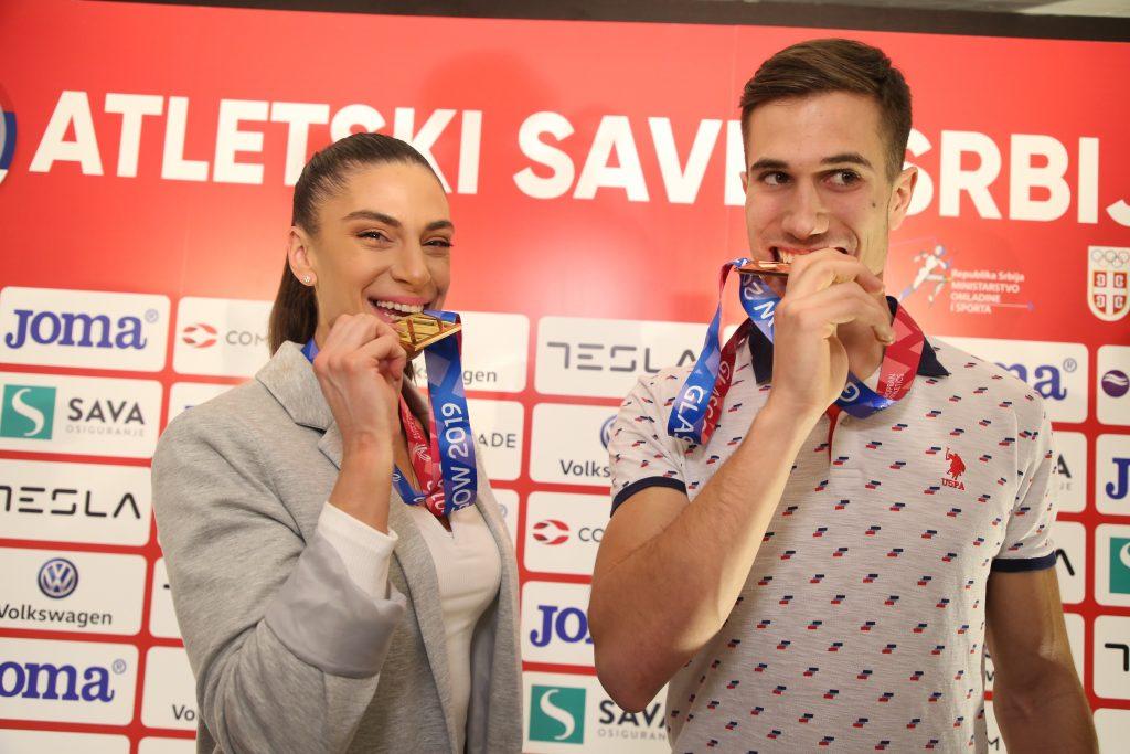 Ivana Španović i Strahinja Jovančević