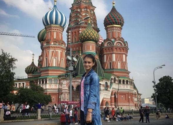Ivana Ilic u Moskvi